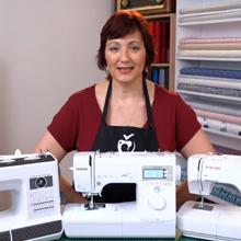 Rozdělení domácích šicích strojů - ilustrační obrázek